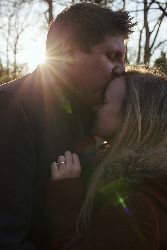 Jamie and Dani's Engagement Shoot - Jan 17 - Holly Cade photography, Isle of Wight Wedding Photographer