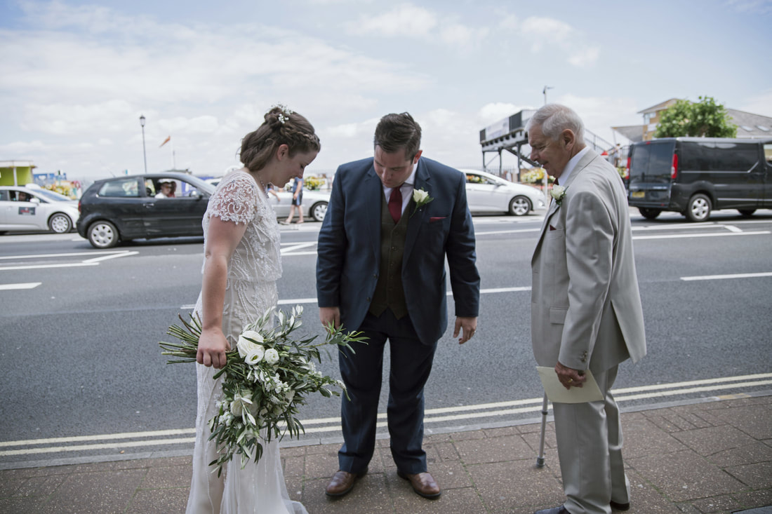 Jay & Hannah's Wedding, Royal Esplanade, Ryde, Isle of Wight - Holly Cade UK Wedding and Portrait Photographer