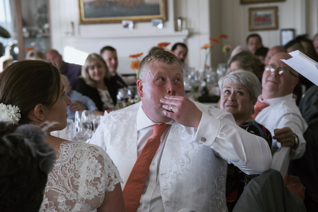 Barry & Vicky's Wedding, May 2017 at Bembridge Sailing Club, Isle of Wight. Holly Cade - UK Wedding and Portrait Photographer