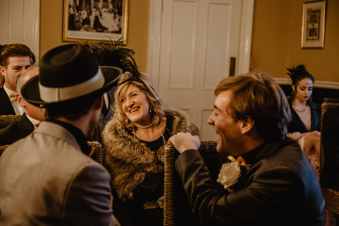 Cara & Dan's 1920's Themed Autumn Wedding at Albert Cottage, East Cowes, Isle of Wight : Holly Cade - Alternative Documentary Wedding & Portrait Photographer. Available to shoot on the Isle of Wight, Portsmouth, Southampton, Hampshire, the South Coast of England, throughout the UK and Worldwide.