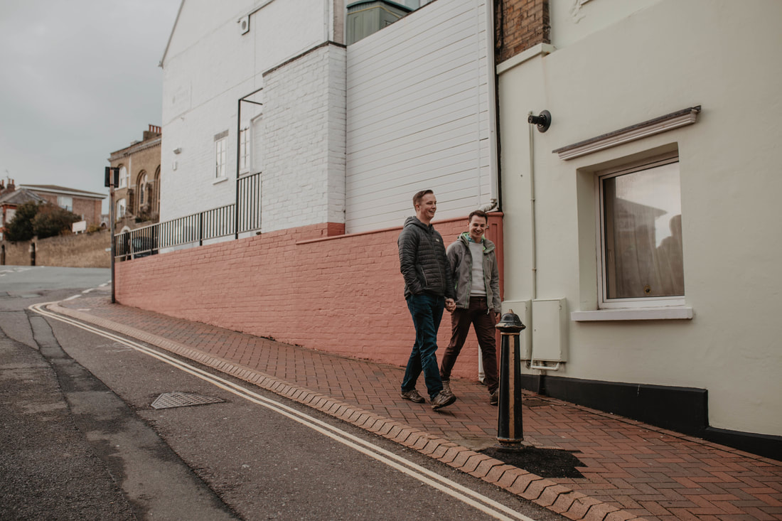 Lawrence & Nick's Engagement Shoot in Cowes, Isle of Wight - Photos by Holly Cade, UK Wedding & Portrait Photographer.