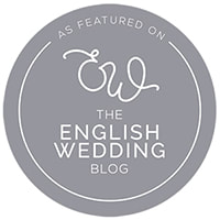 Holly Cade - Real wedding featured on The English Wedding Blog