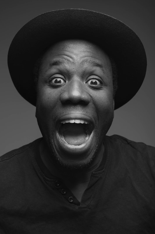 Portrait of Tosin of Toes In Video Production by Holly Cade - UK Wedding and Portrait Photographer, based on the Isle of Wight.